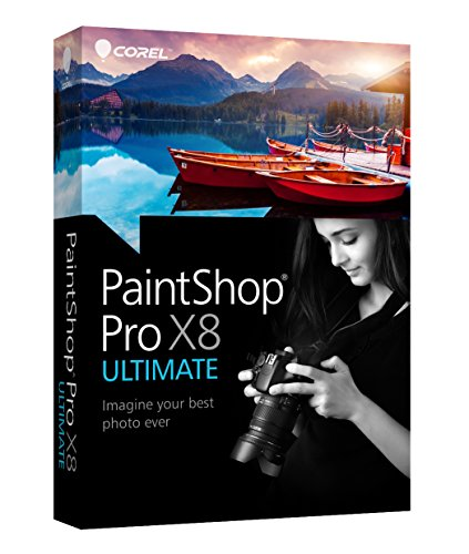 Corel PaintShop Pro X8 Ultimate (Photo Plus Software compare prices)