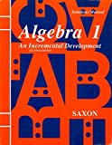 img - for Algebra 1: An Incremental Development - Solutions Manual book / textbook / text book