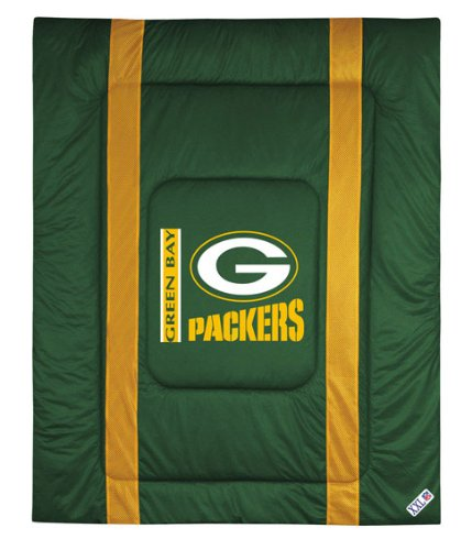 Nfl Green Bay Packers Twin Comforter - Football Bedding front-1073660