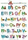 Fragenbär-Lernposter: Mein erstes ABC der Tiere.: Gerollt, matt folienbeschichtet, abwaschbar