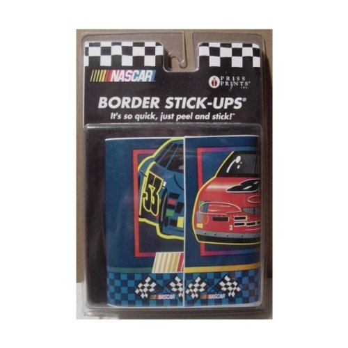 NASCAR Kids Room Border Stick-Ups