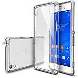 Xperia Z3 Case - Ringke FUSION Case [Free HD Film/Dust&Drop Protection][CRYSTAL VIEW] Shock Absorption Bumper Premium Hard Case for Sony Xperia Z3 - Eco/DIY Package (Not for Z3 Compact / Z3v /Z3 Dual)
