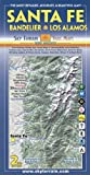 Santa Fe, Bandelier & Los Alamos Trail Map 2nd Edition