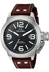 TW Steel Men's CS22 Analog Display Quartz Brown Watch