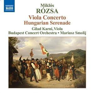 Viola Concerto / Hungarian Serenade