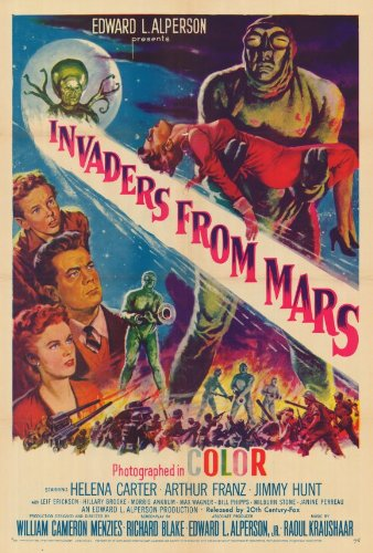 Invaders from Mars 1953 Artwork