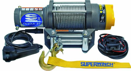 Great Features Of Superwinch 1145220 Terra 45 ATV & Utility Winch (4500lbs/2046kg Rating)