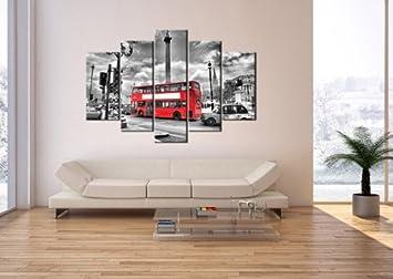 impression sur toile 150x100 cm image sur toile 5 parties encadr e. Black Bedroom Furniture Sets. Home Design Ideas