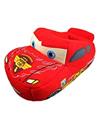 Disney Boy's Lightning McQueen Cars Slippers