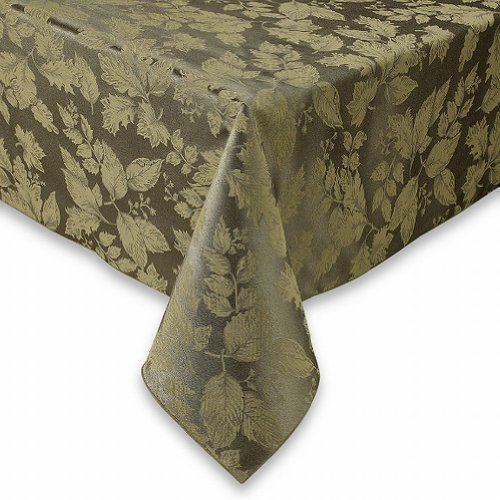 bbb-autumn-harvest-green-damask-fabric-tablecloth-table-cloth-52x70-ob-by-autumn-harvest