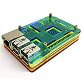 Eleduino Raspberry Pi 2 raspberry Model B Mutli Color アクリル ケース  Case +Heatsink Kit