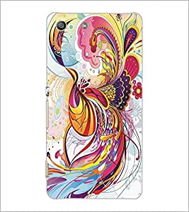 SONY XPERIA M5 COLORFUL ART Designer Back Cover Case By PRINTSWAG