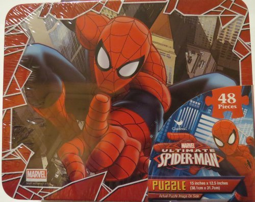 Marvel Ultimate Spider-man 48 Piece Puzzle Lunch Box