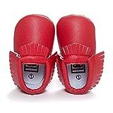 Lemandy Lovely sint�tica Beb�s primera zapatos de senderismo Zapatos de Senderismo de aprendizaje Ni�os o Ni�as BS002 rosso Talla:11cm