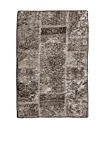 RugSense Alfombra Vintage Persian Collage (Gris/Barro)