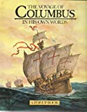 img - for The Voyage of Columbus: A Pop-up Book: In His Own Words by Stacie Strong (1992-07-16) book / textbook / text book