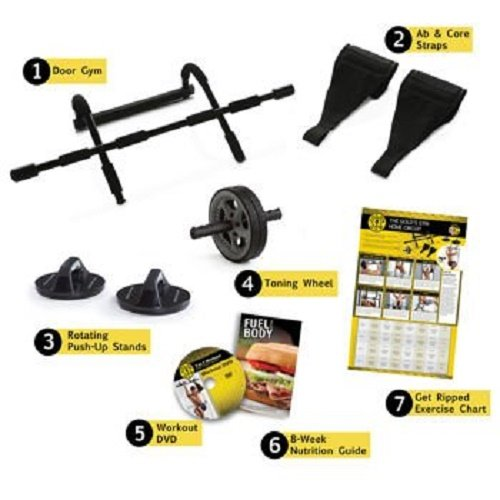 Golds Gym 7-in-1 Body Building System (Gold Gym Ab Wheel compare prices)