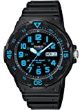 Casio #MRW200H-2BV Men's Easy Reader 100M Sports Analog Watch