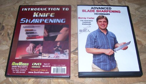 Blade Sharpening (2 Dvd Set With Murray Carter)