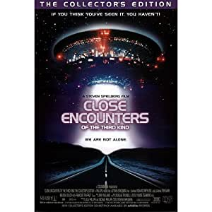 (27x40) Close Encounters of the Third Kind Movie Collector's Edition Original Poster Print
