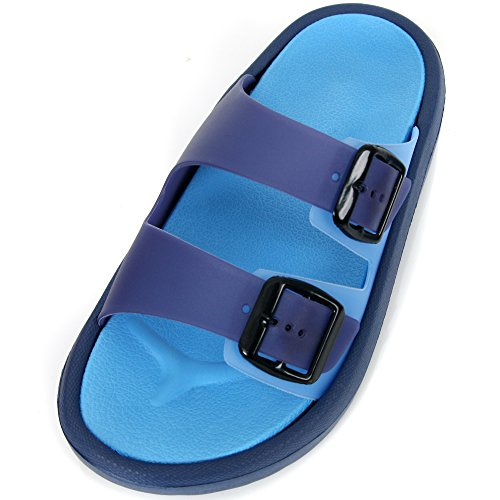 S-ACE Women's Light Weight Slide Slip on Comfortable Sandal