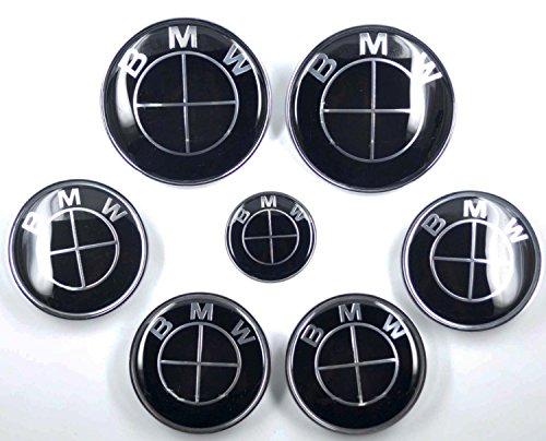 gaohou-ensemble-7-pieces-bmw-noir-capuche-de-volant-embleme-badge-de-centre-moyeu-pour-roue-par-good