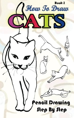 how to draw cats pencil drawings step by step book 2