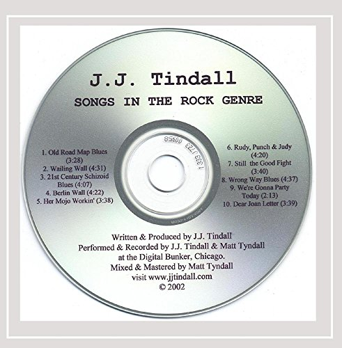 J.J. Tindall - Songs in the Rock Genre [Explicit]