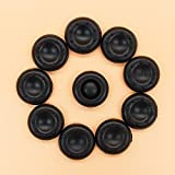 10PCS Black PTU Silicone Rubber Gel Analogue Thumb Grip Stick Caps Corvers for PS4/PS3/XBOX 360/XBOX ONE/Wii Controllers