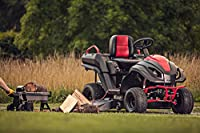 Raven MPV7100 Hybrid Riding Lawnmower Power Generator and Utility Vehicle, Red/Black from Raven