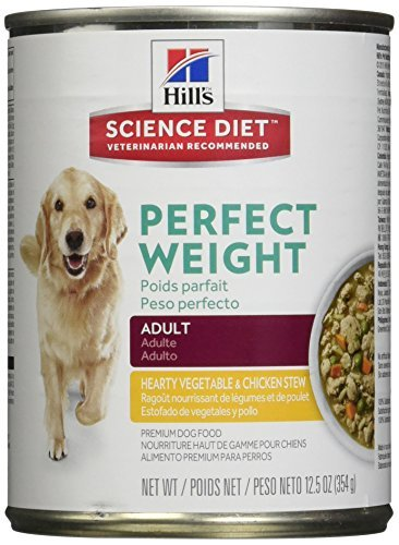 hills-science-diet-canine-adult-perfect-weight-hearty-vegetable-chicken-stew-dog-food-125-oz-12-pack