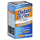 Osteo Bi-Flex Glucosamine Chondroitin Complex, Triple Strength, Smoothcap White Coated Caplets, 120 ct.