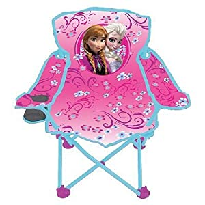Amazon Com Disney Frozen Fold N Go Kids Chair W