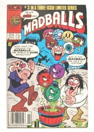 1986年 「MADBALLS マッドボール」 No.3 中古アメコミ(洋書) STAR / MARVEL COMICS
