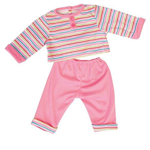 Bayer Design - 83823 - Vêtement Pour Poupée - Habit Poupon - T-shirt + Pantalon - 2 Pièces - 38 Cm
