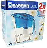 New Wave Enviro Barrier Water Filter Pitcher Grand Blue -- 1 Set