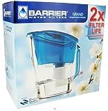 New Wave Enviro Barrier Water Filter Pitcher Grand Blue -- 1 Set