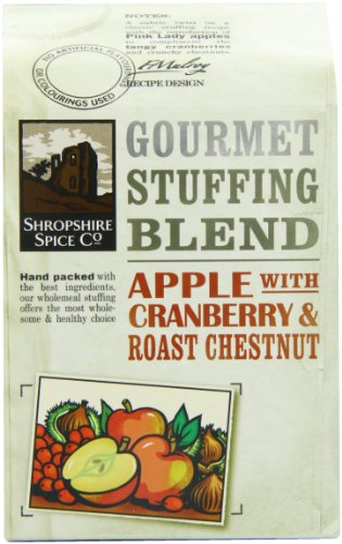 Shropshire Spice Gourmet Stuffing Blend Spice Apple, Cranberry and Chesnut 150 g (Pack of 12)