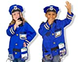 Police Officer Cop Role Play Costume Set Melissa & Doug Toys 4835