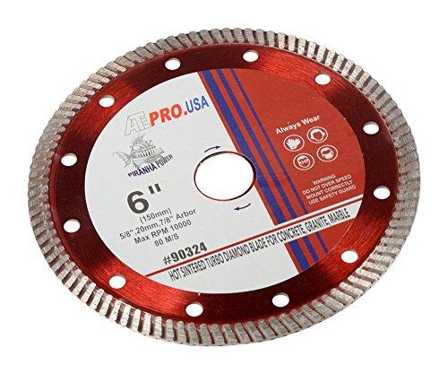 ATE Pro.  USA 90324 Diamond Blade, , Turbo, Pro-Series, Hot Sintered, 6