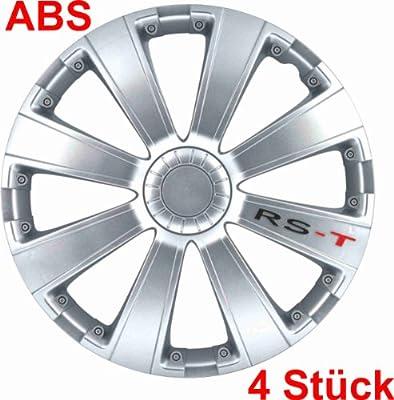 Universal Radzierblende Radkappe Tq-rst Silbern 15 15 Zoll Opel Calibra Kadett Manta Tigra Agila Astra-g Astra-h Corsa B C D Signum Vectra B C Zafira A B von RAU
