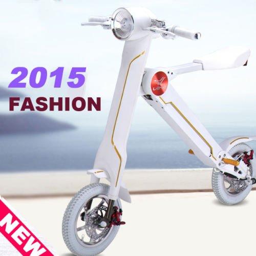 【 Smart bike 】K1 Scoota Electric bike 電動スクーター 電動バイク 20km/h ホワイト