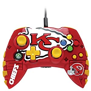 Amazon Com Xbox 360 Nfl Kansas City Chiefs Controller