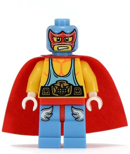 51xKOGWquyL Reviews LEGO 8683 Minifigures Series 1   Super Wrestler