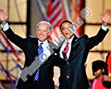 Democratic Presidential candidate Barack Obama & Vice Presidential candidate Joe Biden, Democratic Photo 10 x 8in