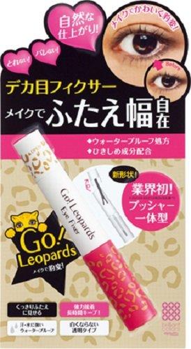 日本Amazon海淘:明色Go Leopards豹变浓密卷翘睫毛膏粉色款