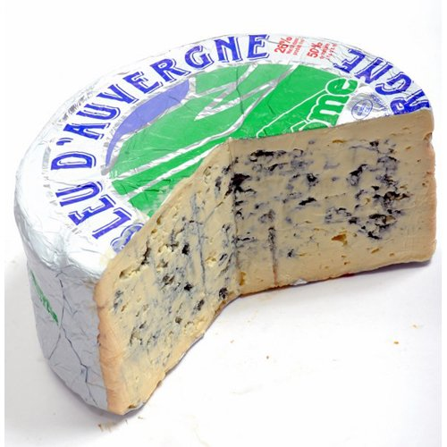 Bleu d'Auvergne Cheese (Whole Wheel) Approximately 5 Lbs (Cheese Delicatessen compare prices)