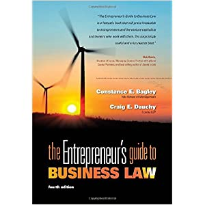 The Entrepreneuer's Guide to Business Law - Bigley