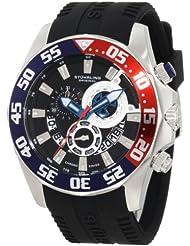 Stuhrling Original Men's 287A.331613 Sportsman Nautico Swiss Quartz Multi-Function Black Watch