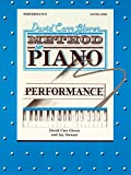 img - for David Carr Glover Method for Piano Performance: Level 1 book / textbook / text book